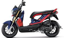 Honda Zoomer-X 2017 ใหม่ เริ่มวางจำหน่ายแล้ว ราคา 55,700 บาท
