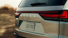 Lexus LX 600 ใหม่ เผยภาพทีเซอร์ก่อนเปิดตัวจริง 14 ตุลาคมนี้