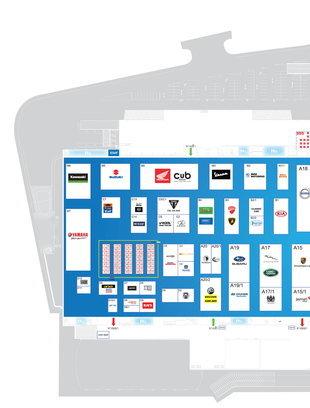 แผนผัง Motor Show 2021