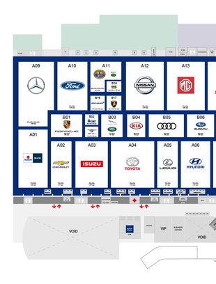 แผนผัง Motor Expo 2019