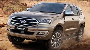 Ford Everest 2018 ไมเนอร์เชนจ์ใหม่ได้เครื่องยนต์เทอร์โบคู่ 2.0 ลิตรด้วย