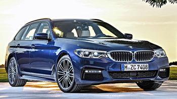 BMW 530i Touring M Sport 2018 ใหม่ ถูกเปิดตัวที่มอเตอร์โชว์ ราคา 4,539,000 บาท
