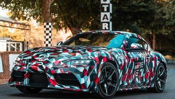 Toyota Supra 2018 ใหม่ เผยโฉมตัวจริงครั้งแรกที่อังกฤษ