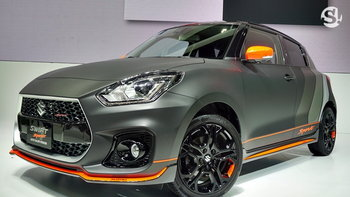 Suzuki Swift Sport 2019 ขุมพลังเทอร์โบ 1.4 ลิตร เผยโฉมที่งานมอเตอร์เอ็กซ์โป
