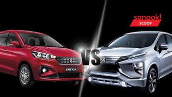 เทียบสเป็ค Suzuki Ertiga และ Mitsubishi Xpander 2019 ใหม่ ออปชั่นใครแน่นกว่า?