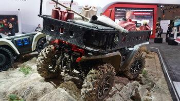 Honda Autonomous Work Vehicle ใหม่ รถ ATV ขับขี่อัตโนมัติเผยโฉมในงาน CES 2019