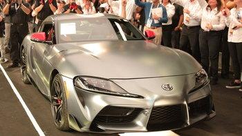 Toyota Supra 2019 คันแรกของโลกถูกประมูลด้วยราคาสูงถึง 66 ล้านบาท!