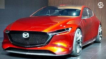 มอเตอร์โชว์ 2019: เปิดตัว Mazda KAI Concept ต้นแบบ Mazda3 2019 ใหม่