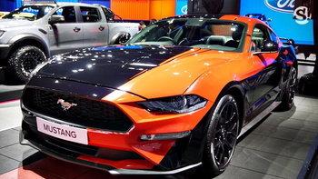 Ford Mustang ขึ้นแท่นรถคูเป้ 2 ประตูขายดีที่สุดในโลก 4 ปีซ้อน