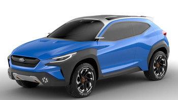 Subaru Viziv Adrenaline Concept 2019 ใหม่ ยกเครื่องดีไซน์เน้นความสมบุกสมบัน