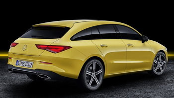 Mercedes-Benz CLA Shooting Brake 2019 ใหม่ แวกอนหรูรุ่นเล็กเผยโฉมแล้ว