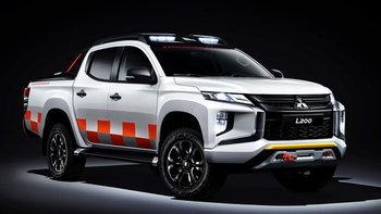 ไปดู Mitsubishi Triton Mountain Rescue 2019 ใหม่ พร้อมชุดแต่งสำหรับกู้ภัยโดยเฉพาะ