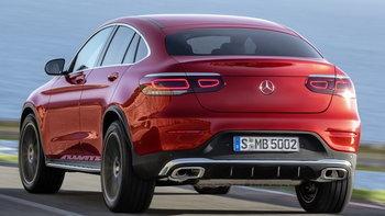 Mercedes-Benz GLC Coupe 2019 ไมเนอร์เชนจ์ใหม่เผยโฉมอย่างเป็นทางการแล้ว