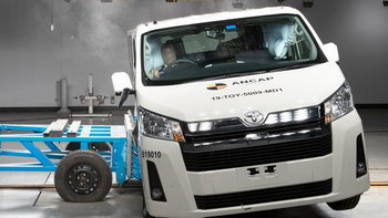 All-new Toyota Hiace 2020 ใหม่ คว้าคะแนนความปลอดภัย 5 ดาวจาก ANCAP