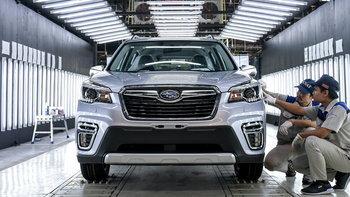 """""""ตันจง"""" เปิดโรงงานแห่งแรกในไทยประเดิมผลิต Subaru Forester 2019 ใหม่"""