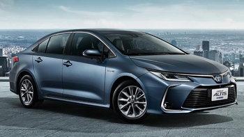 Toyota Corolla Altis Hybrid 2019 ใหม่ ราคาไม่ถึง 9 แสนบาทที่ไต้หวัน
