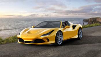 Ferrari F8 Spider ม้าลำพองเปิดประทุนคันงาม แรงขึ้น แต่น้ำหนักเบาลง!