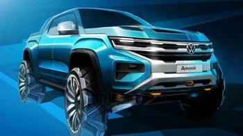 ภาพร่าง Volkswagen Amarok 2020 กระบะแห่งพันธมิตรกับค่าย Ford