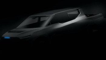 Karma ส่งทีเซอร์รถกระบะไฟฟ้าสีดำทะมึนทรงแปลกตา คาดราคาไม่ถึง 4.2 ล้าน