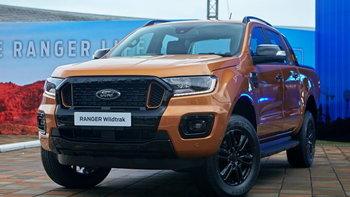 Ford Ranger Wildtrak 2021 ใหม่ ปรับย่อยเพิ่มฟีเจอร์เด็ด ราคา 979,000 - 1,265,000 บาท