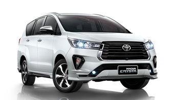 Toyota Innova Crysta 2021 ไมเนอร์เชนจ์ใหม่ เคาะราคา 1,199,000 - 1,429,000 บาท