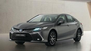 Toyota Camry Hybrid 2021 ไมเนอร์เชนจ์ใหม่ ปรับดีไซน์หรูเฉียบยิ่งขึ้นที่ยุโรป