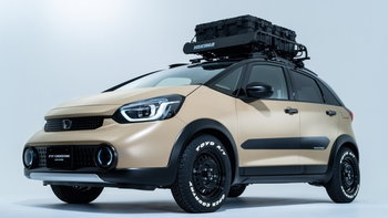 Honda Fit e:HEV Crosstar Custom ใหม่ จับ Jazz แปลงร่างเป็นครอสโอเวอร์ที่ญี่ปุ่น