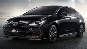 Toyota Corolla Altis 2021 เพิ่มชุดแต่ง Storm Package ราคา 16,000 บาท