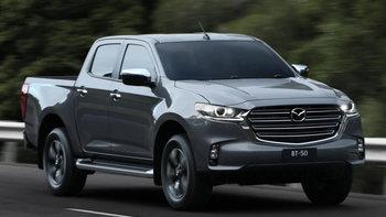 สเปกเบื้องต้น Mazda BT-50 2021 ใหม่ ทั้งภายนอก-ภายในก่อนเปิดตัวจริงในไทย