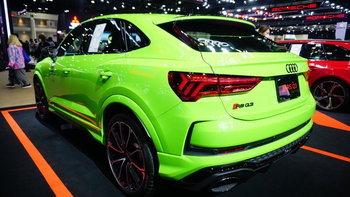 Audi RS Q3 Sportback 2021 ใหม่ เคาะราคา 4,750,000 บาทที่งานมอเตอร์โชว์