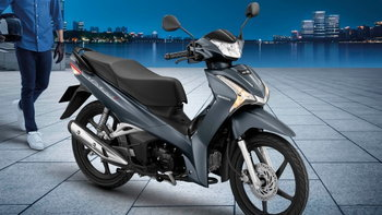 Honda Wave 125i สีเทาด้าน Matte Gray ใหม่ล่าสุด เคาะราคา 56,000 บาท