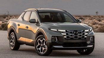 Hyundai Santa Cruz 2021 ใหม่ กระบะรุ่นเล็กพื้นฐานครอสโอเวอร์เผยโฉมแล้ว