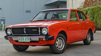 Toyota Corolla อายุ 42 ปีคันนี้ทำราคาประมูลสูงกว่าป้ายแดงถึง 2 เท่า