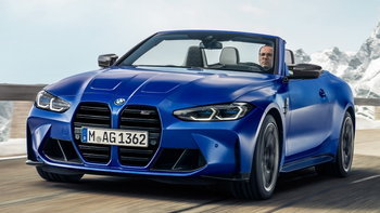 BMW M4 Competition Convertible 2021 ใหม่ ตัวแรงหลังคาผ้าพร้อมขุมพลัง 510 แรงม้า