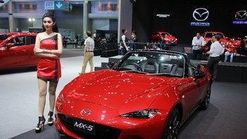 Mazda MX-5 ใหม่ สปอร์ตโรดสเตอร์ใหม่ล่าสุด เคาะเริ่ม 2.7 ล้านบาทในไทย