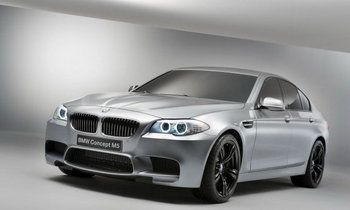 BMW Concept M5 ...นี่แหละตัวแรงลำใหม่ สายพันธุ์สปอร์ต