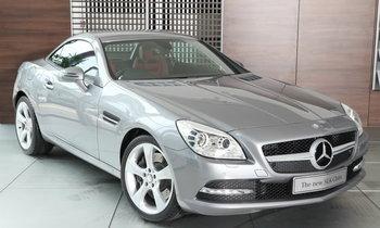 The New Mercedes-Benz SLK 350 โรดสเตอร์สุดหรูพ่วงความแรงด้วยขุมพลัง V6
