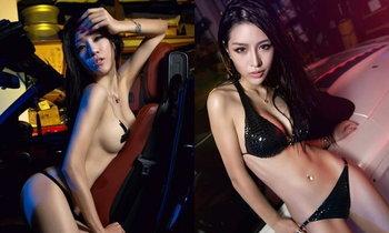 อึ้งทึ่งเสียว! พริตตี้จีน 'โนบรา' เซ็กซี่กว่านี้มีอีกไหม