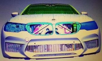 หลุดภาพร่าง 2017 BMW M5 ใหม่ พกขุมพลังทะลุ 600 แรงม้า
