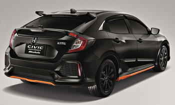 Honda Civic Hatchback 2017 พร้อมชุดแต่ง Modulo เผยโฉมที่งานออโตซาลอน