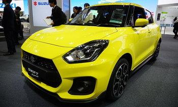 Suzuki Swift Sport 2018 ใหม่ เผยโฉมที่โตเกียวมอเตอร์โชว์