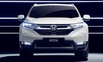 Honda CR-V Hybrid 2018 ใหม่ เตรียมเปิดตัวที่แฟรงค์เฟิร์ตมอเตอร์โชว์