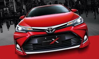 Toyota Corolla Altis X 2017 ใหม่ พร้อมชุดแต่งเข้มเปิดตัวที่ไต้หวัน
