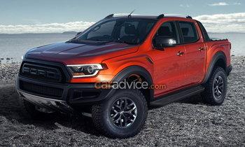ภาพร่าง Ford Ranger Raptor 2018 ใหม่ อาจมีหน้าตาเป็นแบบนี้