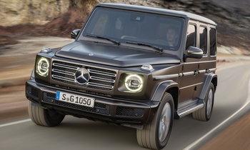Mercedes-Benz G-Class 2018 ใหม่ เผยโฉมอย่างเป็นทางการแล้ว