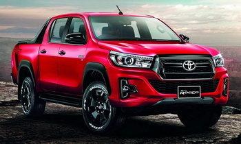 Toyota Hilux Revo Rocco 2018 ใหม่ รุ่นพิเศษพร้อมชุดแต่ง ราคารุ่นท็อป 1,189,000 บาท
