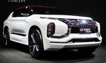 Mitsubishi GT-PHEV Concept เผยโฉมที่งานมอเตอร์เอ็กซ์โป 2017
