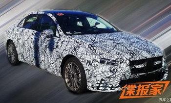 หลุด Mercedes-Benz A-Class Sedan 2018 ใหม่ ก่อนเปิดตัวจริงที่จีน