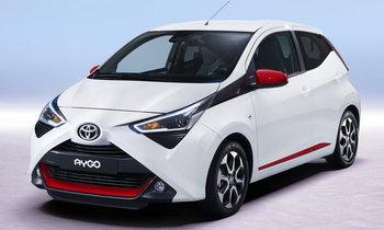 Toyota Aygo 2018 ไมเนอร์เชนจ์เตรียมเปิดตัวที่เจนีวามอเตอร์โชว์