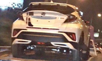 Toyota C-HR 2018 พร้อมชุดแต่งพิเศษถูกจับภาพไว้ได้ในไทย